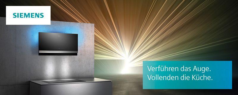 Design-Dunstabzugshauben von Siemens - Küchenfachhändler ...
